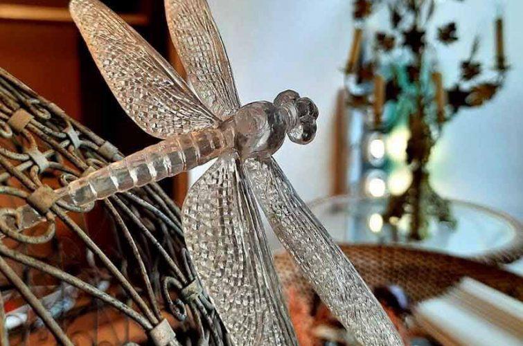 Libellule, décoration à L'Échappée Belle, chambre d'hôte & concept-store à Quimperlé. Décoration, brocante, antiquité à Quimperlé