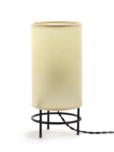 Lampe cylindre à vendre au concept-store L'Échappée Belle à Quimperlé.