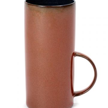 Tasse à thé Rust dark-blue à vendre au concept-store L'Échappée Belle à Quimperlé.